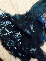 Fabric shine