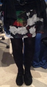 knit skirt .2a