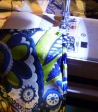 Burda style top stitch