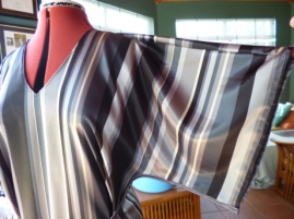 sleeve detail satin dress