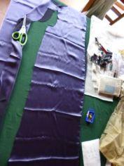 silk bali maxi lining