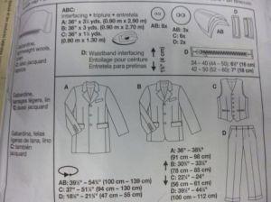 CW suit patternedi1t