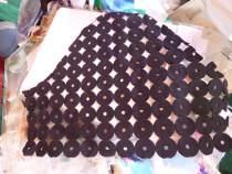 Vinyl cutout fabric