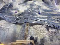 attaching selvage