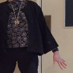reverse kimono